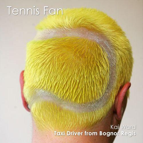 Neil's hair for Wimbledon