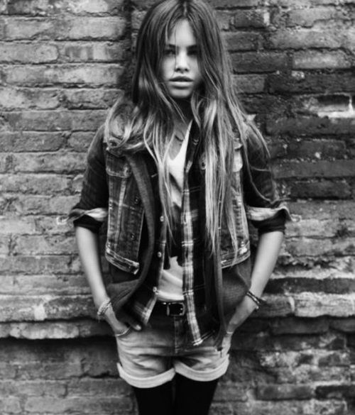 thylane blondeau   Tumblr  Last october, my dad told me I neded to dress according to my age, that I was not 15 yrs old anymore. I was wearing exactly that. I suppose that makes me a 26 yr old who dresses like she's 10!
