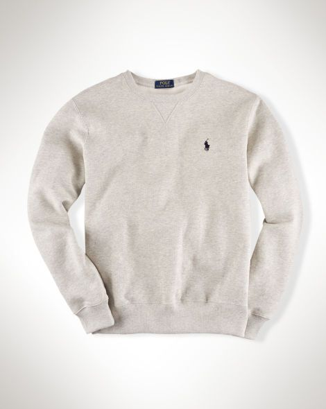 Cotton-Blend Fleece Sweatshirt - Polo Ralph Lauren Sweatshirts - RalphLauren.com LARGE