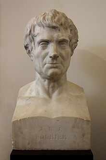 Buste de Joseph Fourier à Grenoble