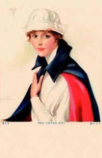 Vintage nurse postcards! Informational Nursing Articles