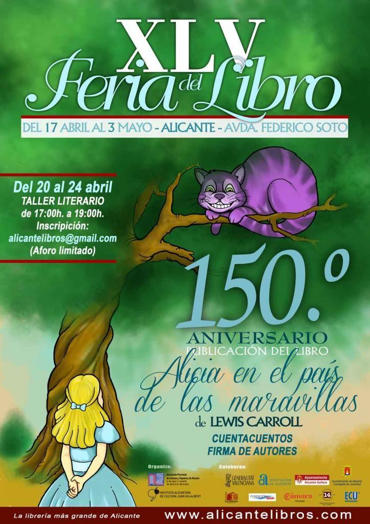 La Feria del Libro se desarrollará del 17 de abril al 3 de mayo en la Av. de Federico Soto   Ayuntamiento de Alicante