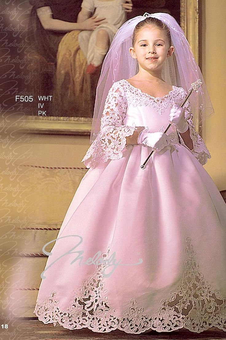 101 best flower girl dresses images on pinterest bridesmaid gowns find more flower girl dresses information about cute princess flower girls dresses 2015 with long sleeve v neck taffeta lace up back cheap girls pageant izmirmasajfo Images