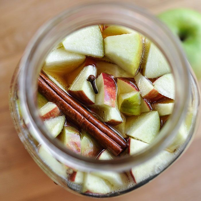 Fall Recipe: Apple Cider Kombucha