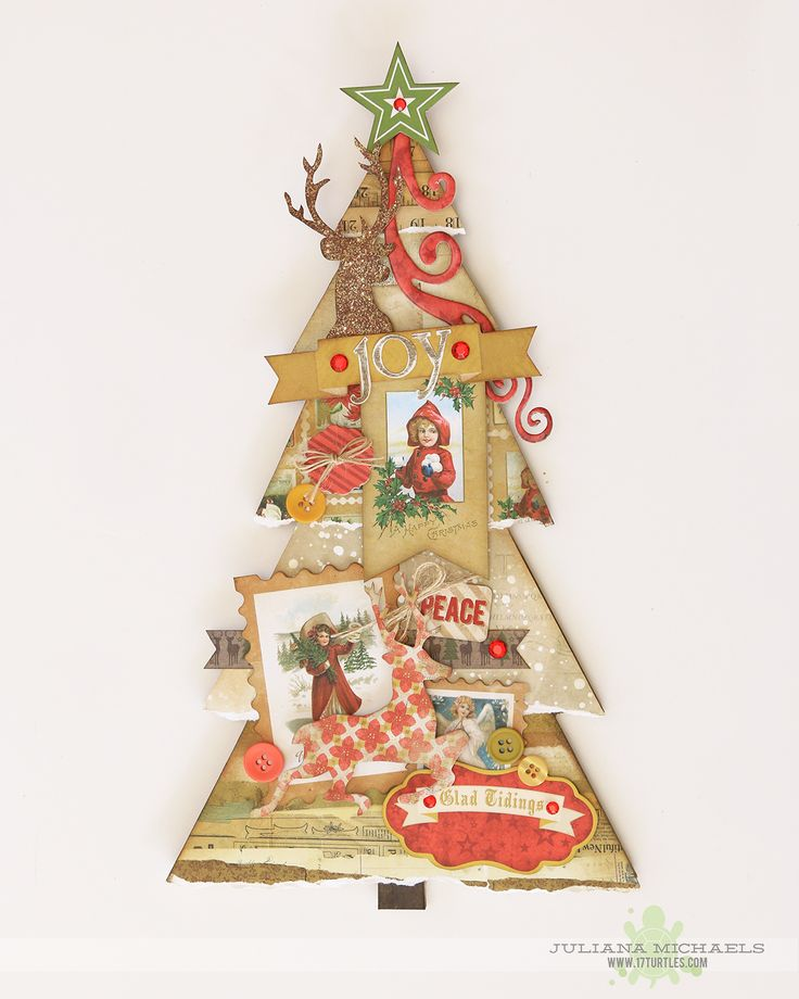 463 best christmas paper crafts images on pinterest diy for Michaels crafts christmas trees