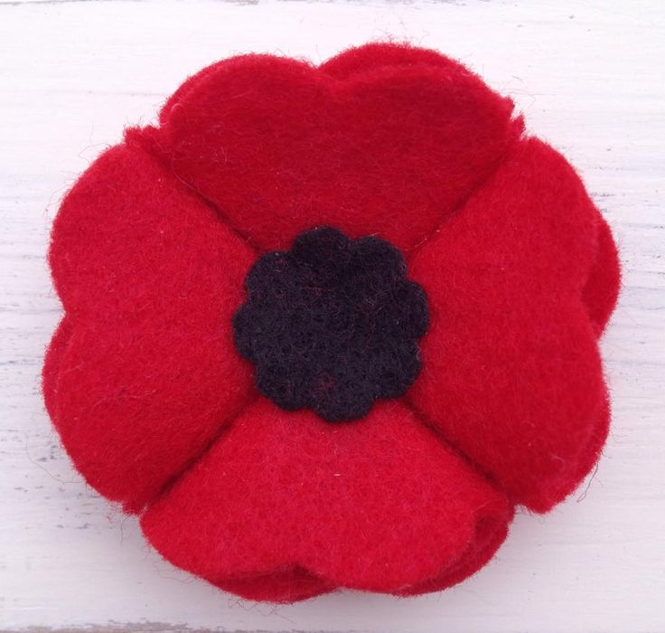 Poppy Made by Me - made of felt