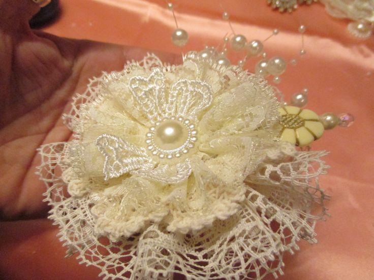 Handmade Shabby Chic Flower