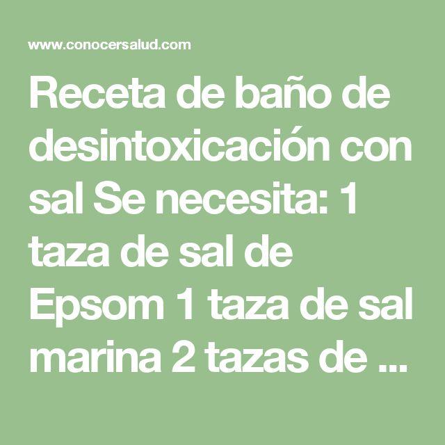 más de 25 ideas increíbles sobre baños de desintoxicación en ... - Banos De Tina Con Bicarbonato De Sodio