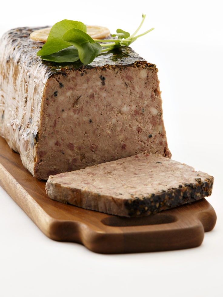 Pâté de Campagne with Black Pepper.