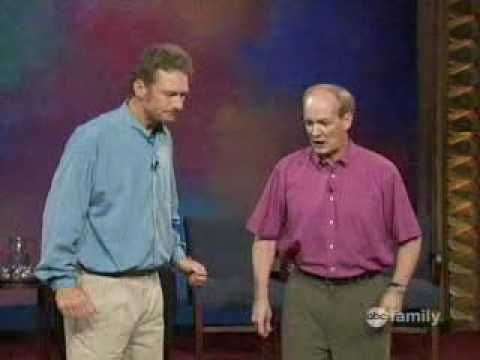 Whose Line. BEST. IMPROV. EVER. I really miss this show.