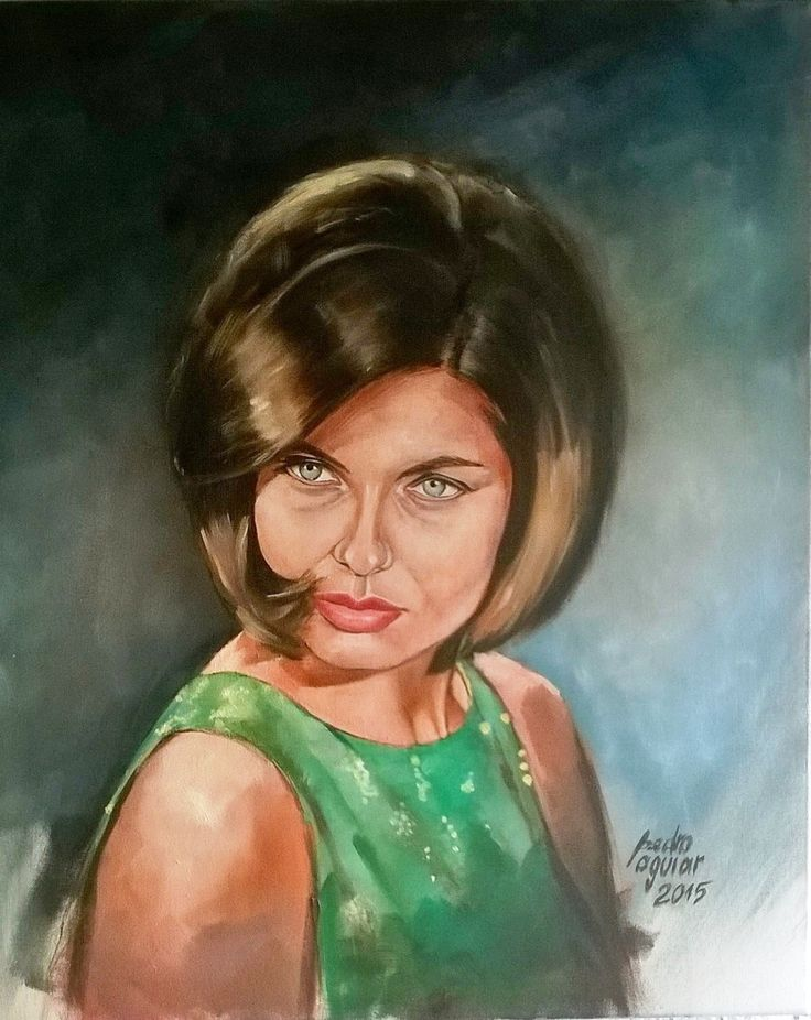 Este é o meu ultimo trabalho . Pintura a óleo sobre tela 65x55 , em homenagem há nossa ilustre cantora Madalena Iglésias.