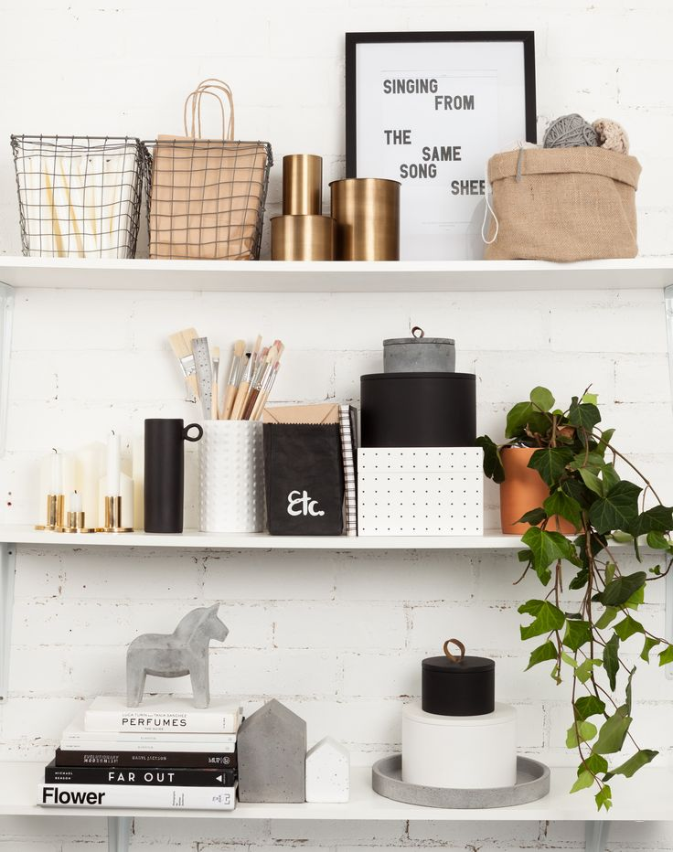 stylish shelving