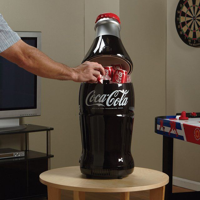Fancy - Retro Coca-Cola Bottle Fridge