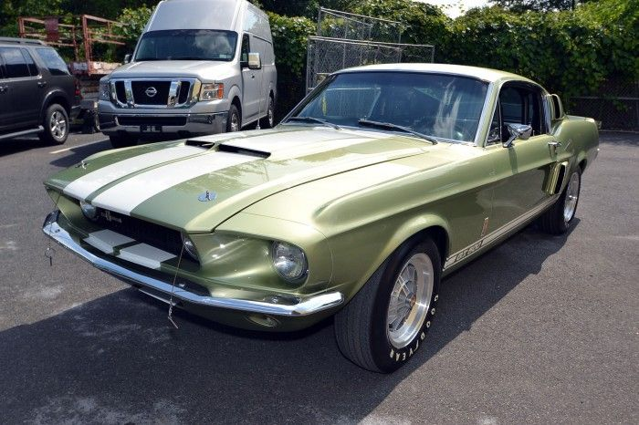 1969 Shelby G.T. 500 Lime Gold Poly
