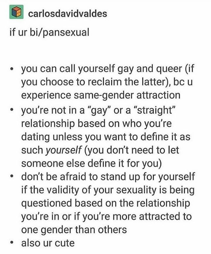 (sent in by @aidanbur) this is only a flop because no, you can't call yourself gay. you're not. other than that not a flop -