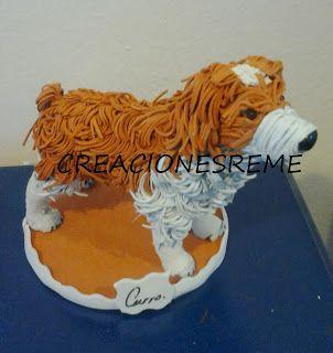 Muñequitas de goma eva Creacionesreme: PERRITO DE GOMA EVA CURRO