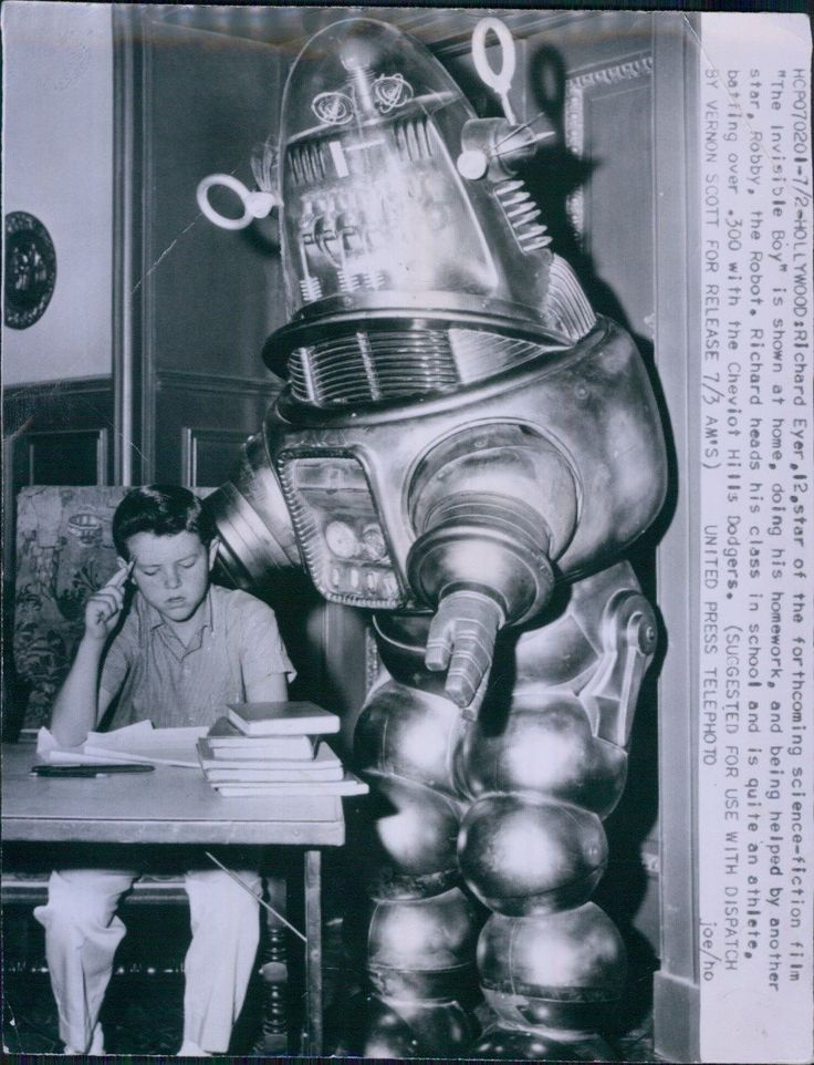 1957 Robby The Robot in Invisible Boy