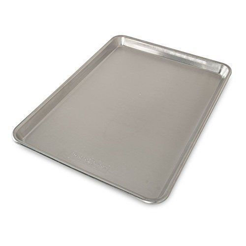 Bakers Natural Aluminum Half Sheet Easy clean up Reinforced Steel Rim Anti Rust  #NordicWare