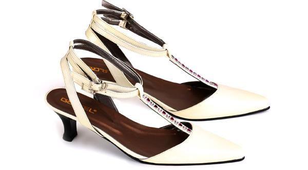 Sepatu Sandal Wanita  Sepatu Kerja Wanita Sepatu High Heels Cewek Mumer Kulit Formal Branded Murah Terbaru ES 337 085697680786