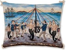 Ralph Cahoon Mermaid Marine Decorative Summer Pillow