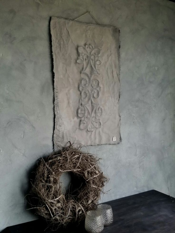 "Kalkverfdoek made by ""de meidenmuts"""