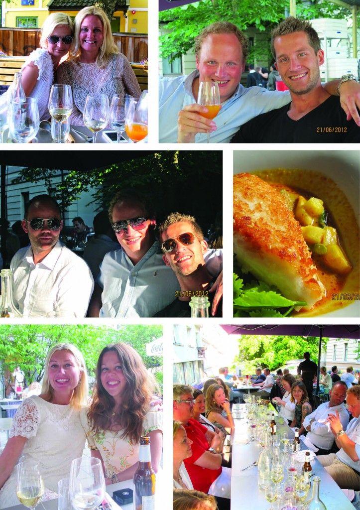 Bonnier Media at Plah Restaurant 21th of June 2012