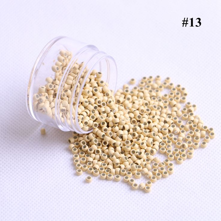 1000pieces/lot 2.9x1.6x2.0mm Blonde Color Copper Silicone Nano Rings Beads Links For Nano Hair Extensions 7 Colors available
