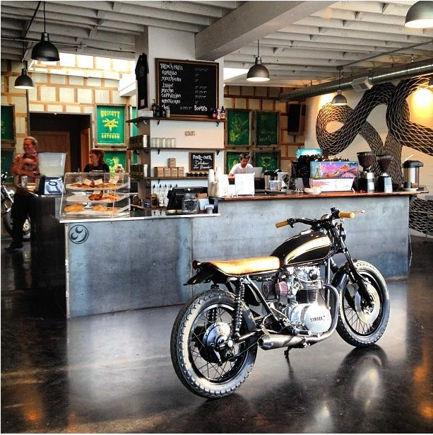The Biker Bar Reimagined, Espresso Included