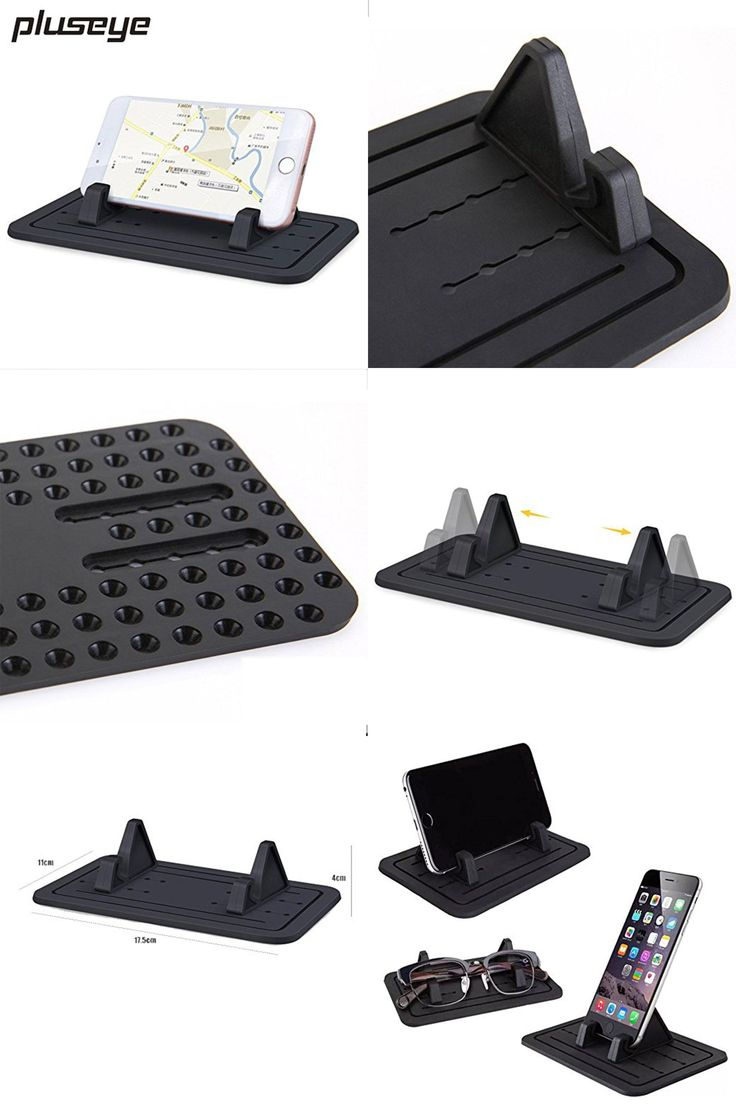 [Visit to Buy] Soft Silicone Mobile Phone Holder Car Dashboard GPS Anti Slip Mat Desktop Stand Bracket for iPhone 5s 6 Samsung Tablet GPS #Advertisement