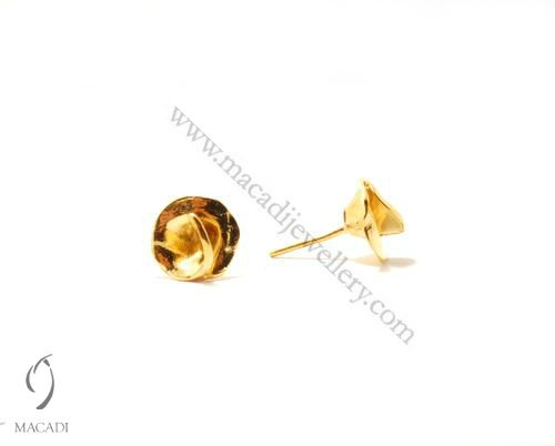 Gold Plated Cadenza Earrings