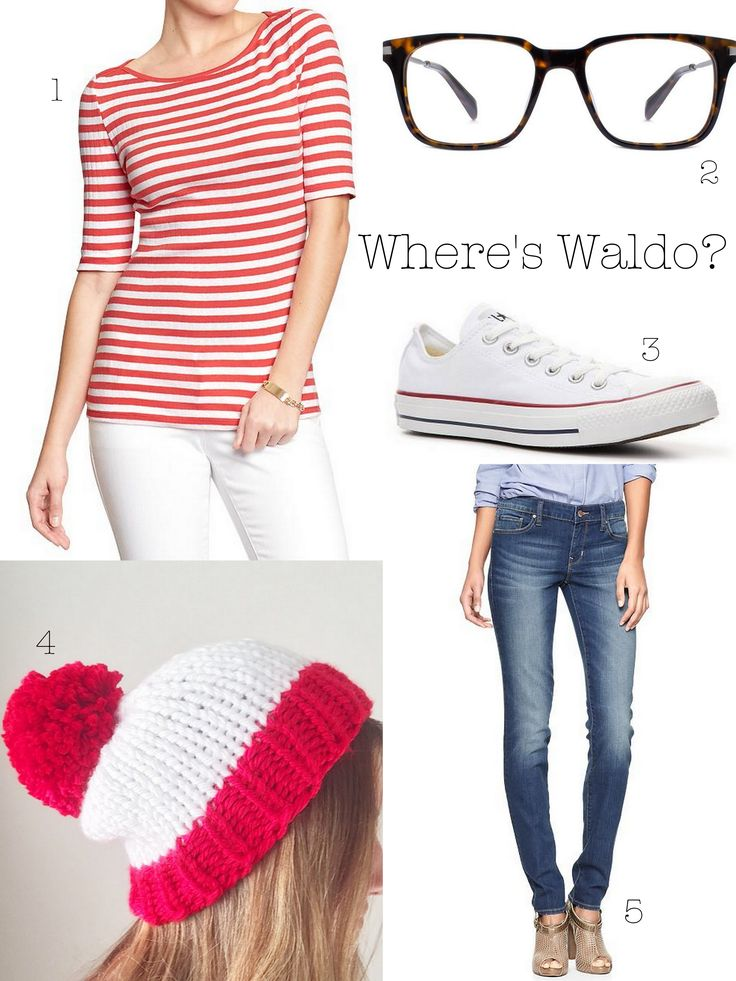 23 best see hatsie wear images on pinterest what to wear halloween wheres waldo with things you already have in your closet clever costumesdiy solutioingenieria Image collections