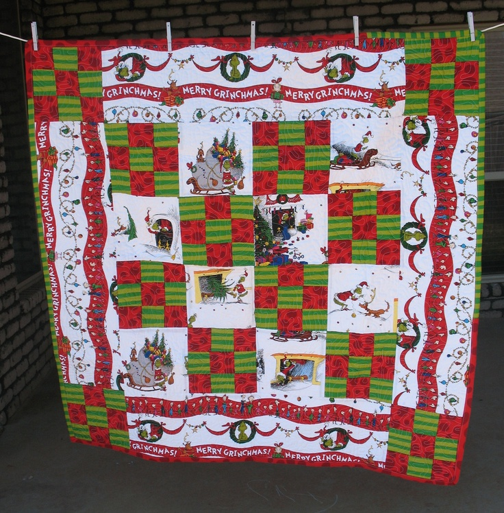 52 Best Dr Suess Amp Grinch Images On Pinterest Quilting