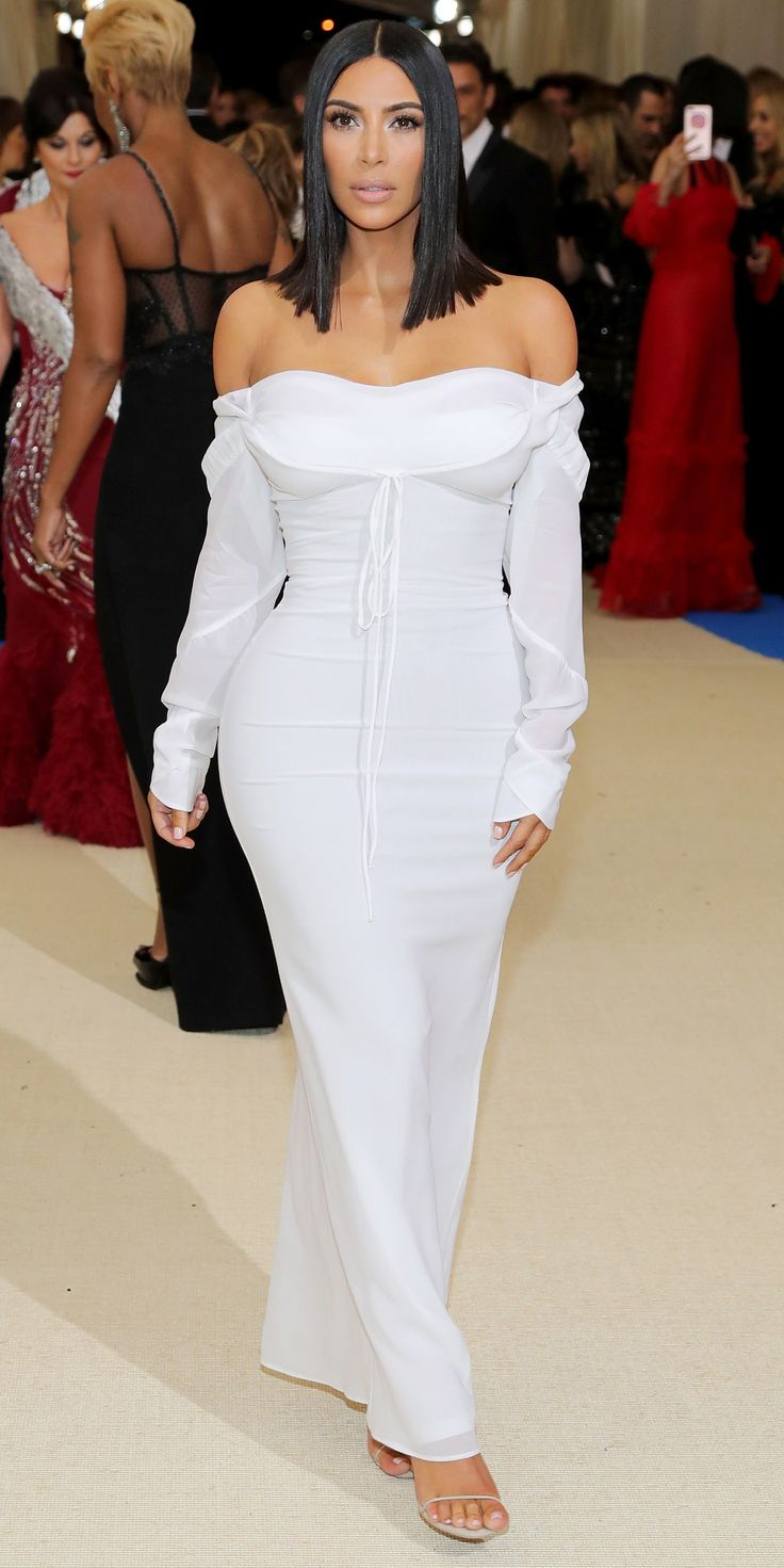 See All the Looks from the 2017 Met Gala Red Carpet - Kim Kardashian West from InStyle.com