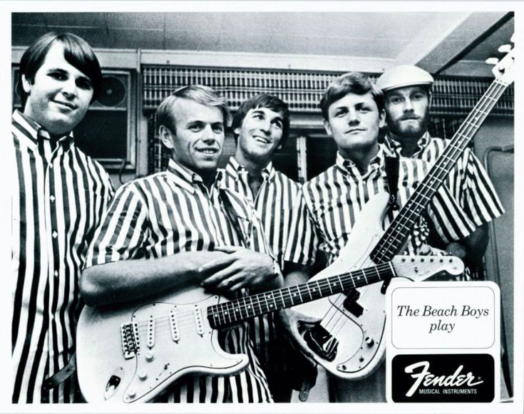 Good vibes and even greater memories.. #VintageFenderAd #TheBeachBoys