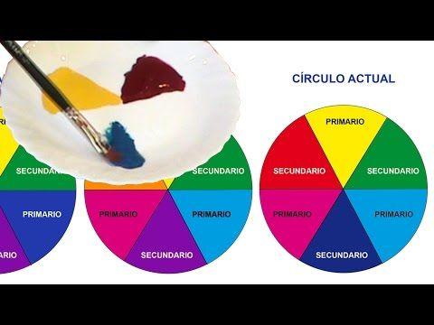 CÍRCULO CROMÁTICO, DOS VERSIONES: CLÁSICA Y ACTUAL - YouTube