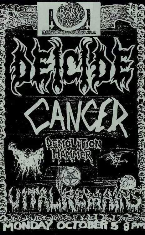 36 Best Metal Death Images On Pinterest Concert Posters