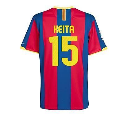 En FutbolmaniAnet, tenemos todos los modelos de 10-11 Barcelona #15 Keita Camiseta De Fútbol Local 22b. Disponemos de una gran selección de 10-11 Barcelona #15 Keita Camiseta De Fútbol Local 22b.Echa un vistazo a las zapatillas de fútbol y botas de fútbol sala para hombre en Nike,adidda,puma ect