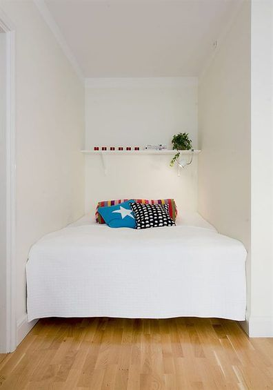 108 Best Small Bedroom Images On Pinterest | Home, Architecture And Ideas