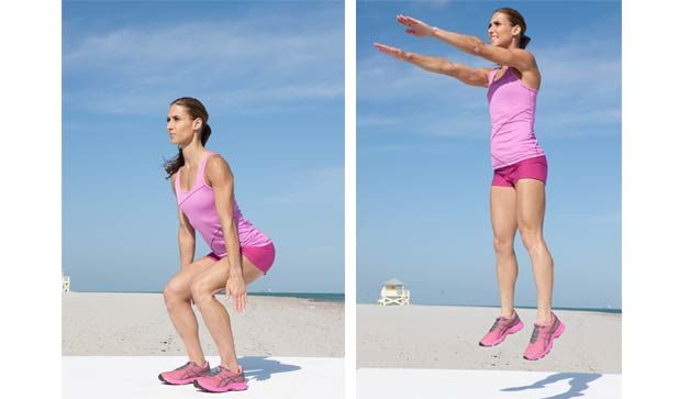 Burn Calories, Build Bones - The 4-minute workout that can help your waist and your bones: http://www.prevention.com/fitness/fitness-tips/tabata-intervals-using-jump-squat-examined