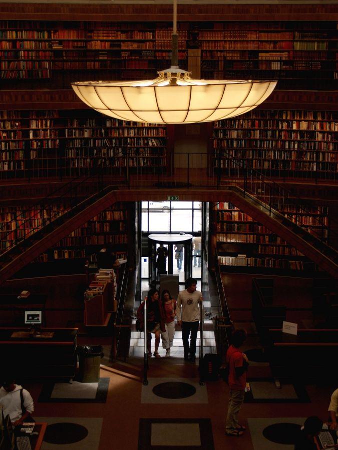 Asplund Library/ Erik Gunnar Asplund/ Stockholm, Sweden