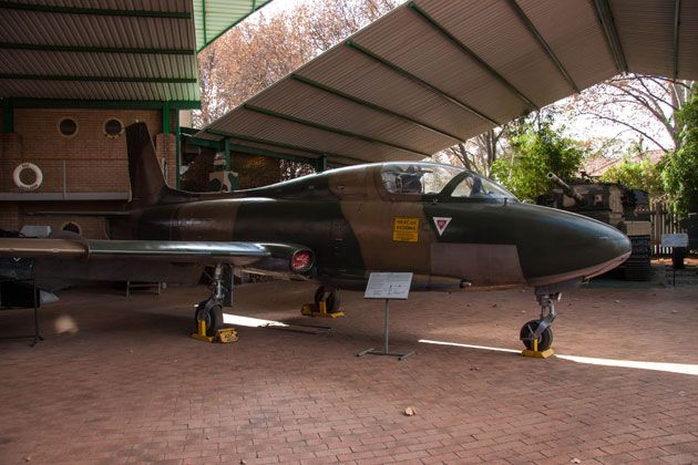 Atlas Impala MKII, constructed here in Kempton Park, South Africa  http://citysightseeing-blog.co.za/2014/06/07/ditsong-national-museum-of-military-history-johannesburg/