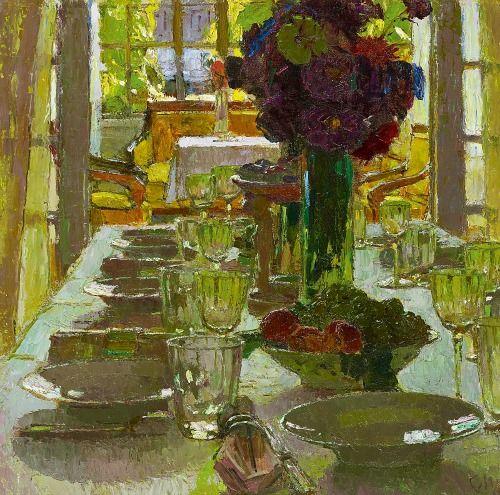 Carl Moll Dining Room 1915