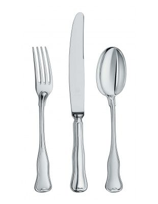 Collection Danese Set 3 pieces:fork, knife, spoon Sterling Silver Zaramella Argenti #zaramellaargenti #zaflatware