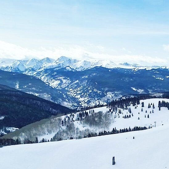 It wasn't a sunny day at @vailmtn yesterday but that's okay. The mountains are impressive no matter the weather and queues were nonexistant thanks to Super Bowl - which our home state Broncos won when we were driving back from the mountains.   #vail #ski #Colorado #visitcolorado #coloradolive #cometolife #travel #matka #reissu #nordicnomads #hiihtoloma #laskettelu #vuoret #kalliovuoret #rockies #rockymountains (via Instagram)