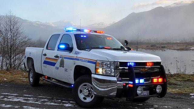 2011 Chevy Silverado Police Truck