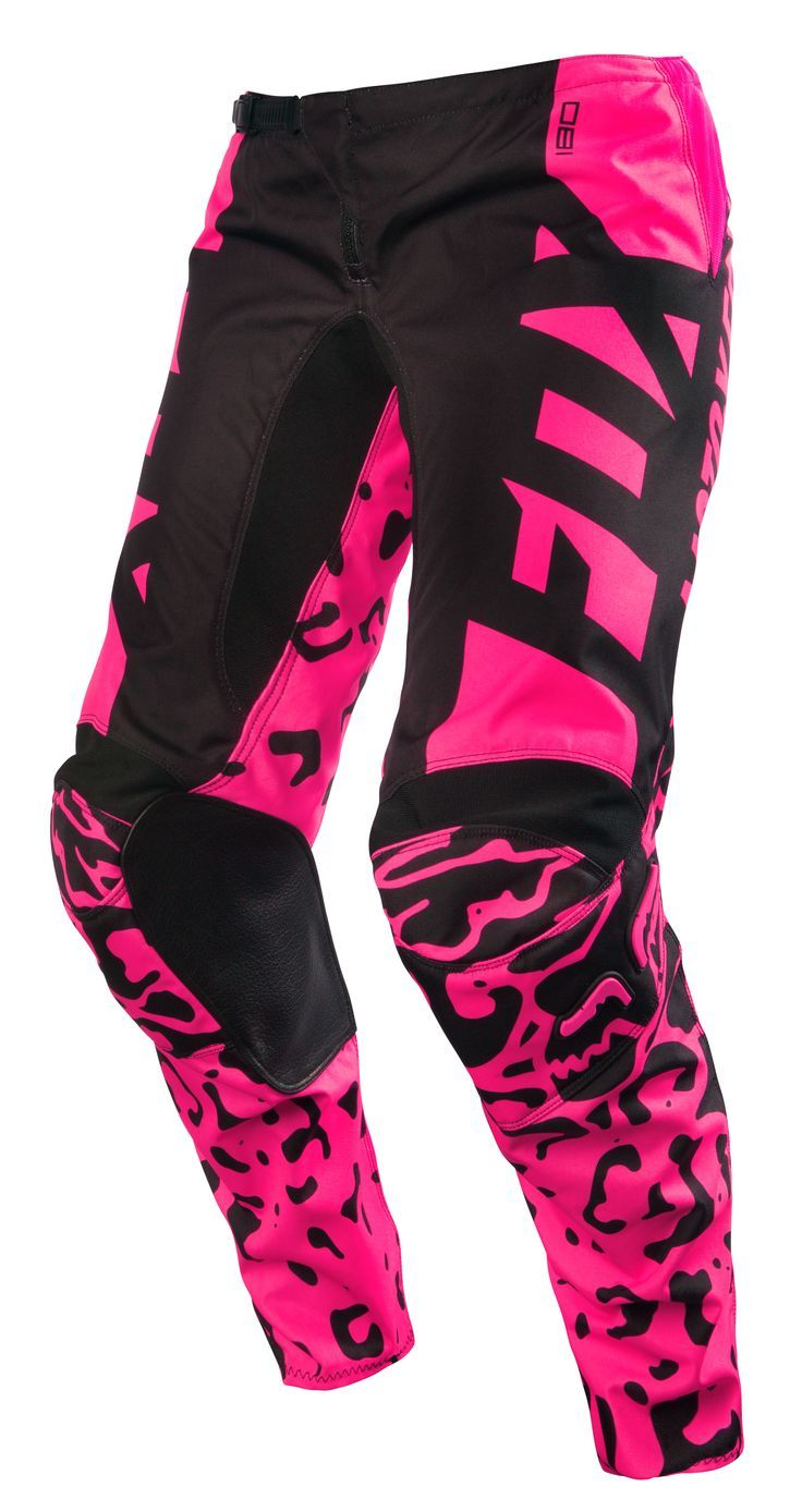 Fox 180 Pants Black/Pink 2016- Ladies - $179.95 : Motorcycle Accessories Supermarket, Motorcycle Accessories Supermarket (MCA) is your one-stop shop for Harley, sports bike, & off road bike parts & accessories. Fast shipping.