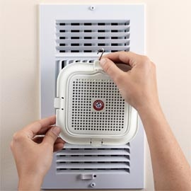 Home Fresh™ System is like an instant whole house air freshener...without the expense.