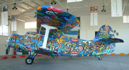 Baby Prams In Pakistan Painted Cuban Plane By Xavier Cortada Painting Design