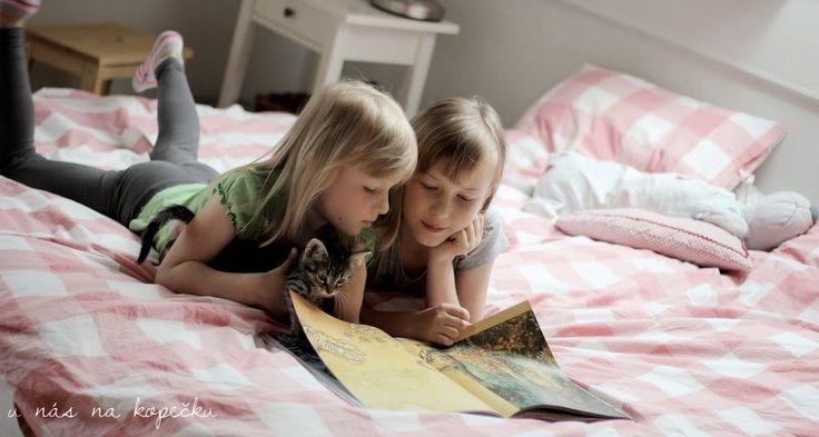 dílna - tutorské čtení U nás na kopečku: škola