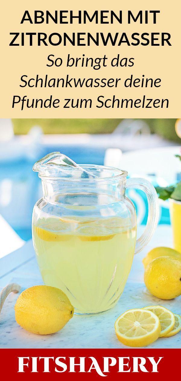 Wer morgens Zitronenwasser trinkt, soll schneller abnehmen und gleichzeitig den …